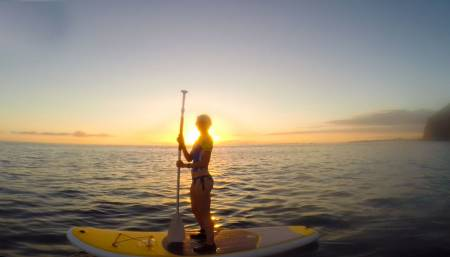 Aventura De Stand Up Paddle Em Tenerife