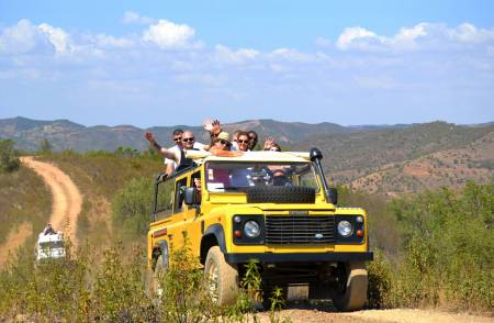Full-Day Jeep Safari In The Algarve With Traditional Lunch