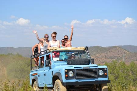 Half-Day Jeep Excursion In The Algarve