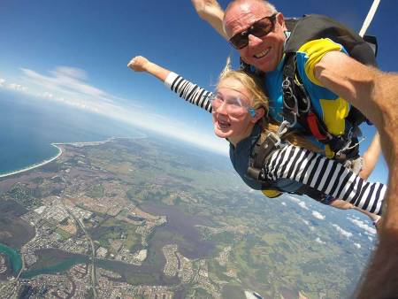 Skydiving In Kirra, Australia
