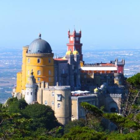Sintra Full-Day Jeep Tour With Visit To Pena Palace
