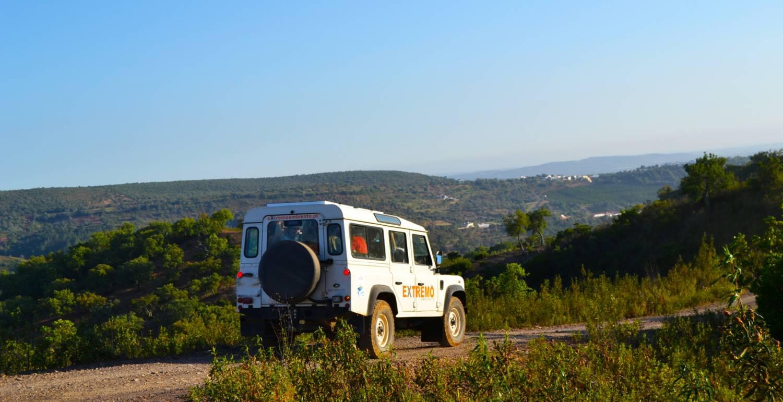 Algarve Jeep Sunset