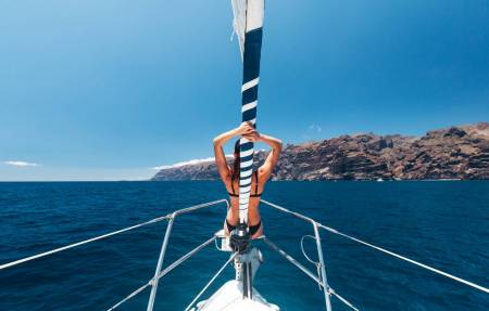Tenerife: 3-Hour Tour In Private Sailboat Watching Whales And Dolphins