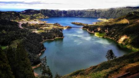 7 Cities And Lake Of Fire Azores