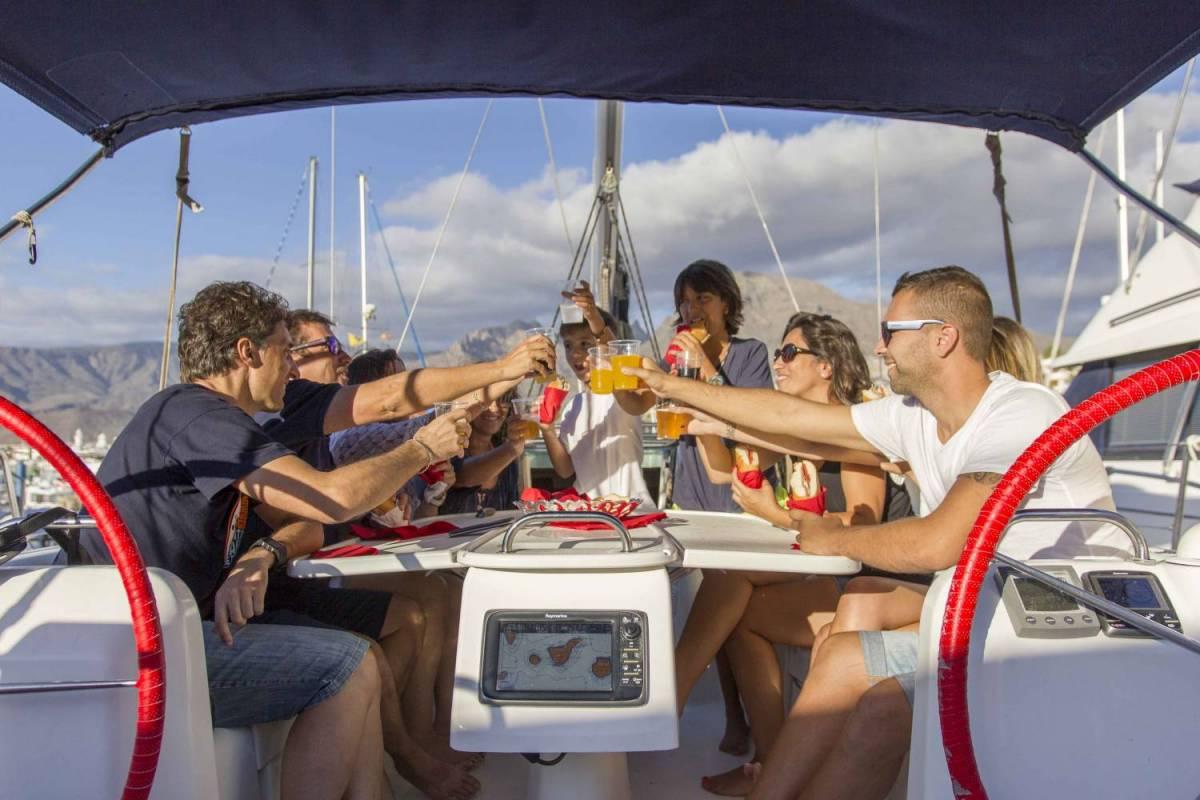 Sailboat rental Tenerife