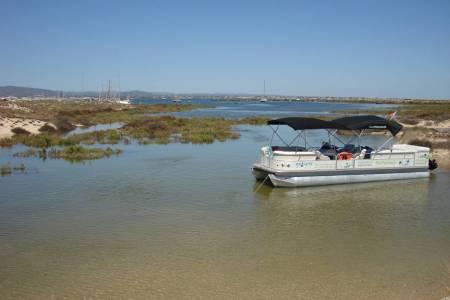 Excursion En Bateau: Îles De La Ria Formosa De Faro