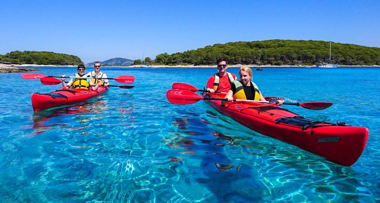 Sea Kayaking To Pakleni Islands