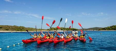 Sea Kayaking To Pakleni Islands