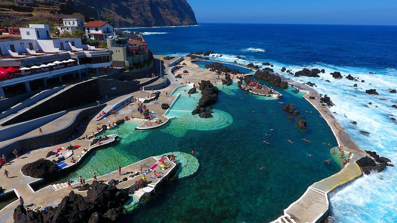 Porto Moniz, Piscinas naturais