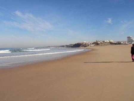 Praia da Areia Branca Peniche