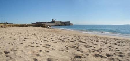 Strand von Carcavelos