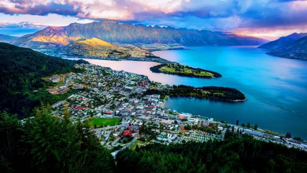 Geh zurück zu Neuseeland