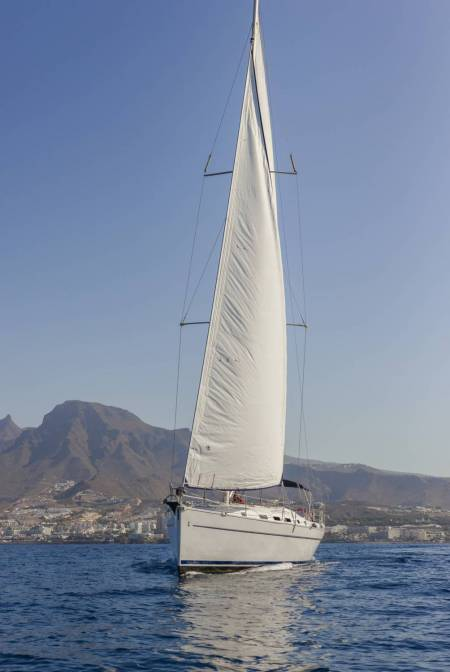 Sailboat rental Tenerife