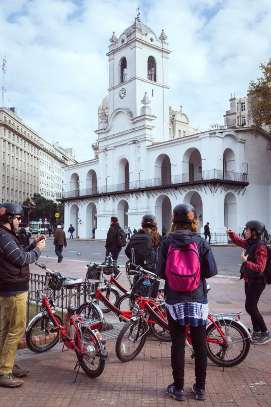 E-Bike Through Buenos Aires