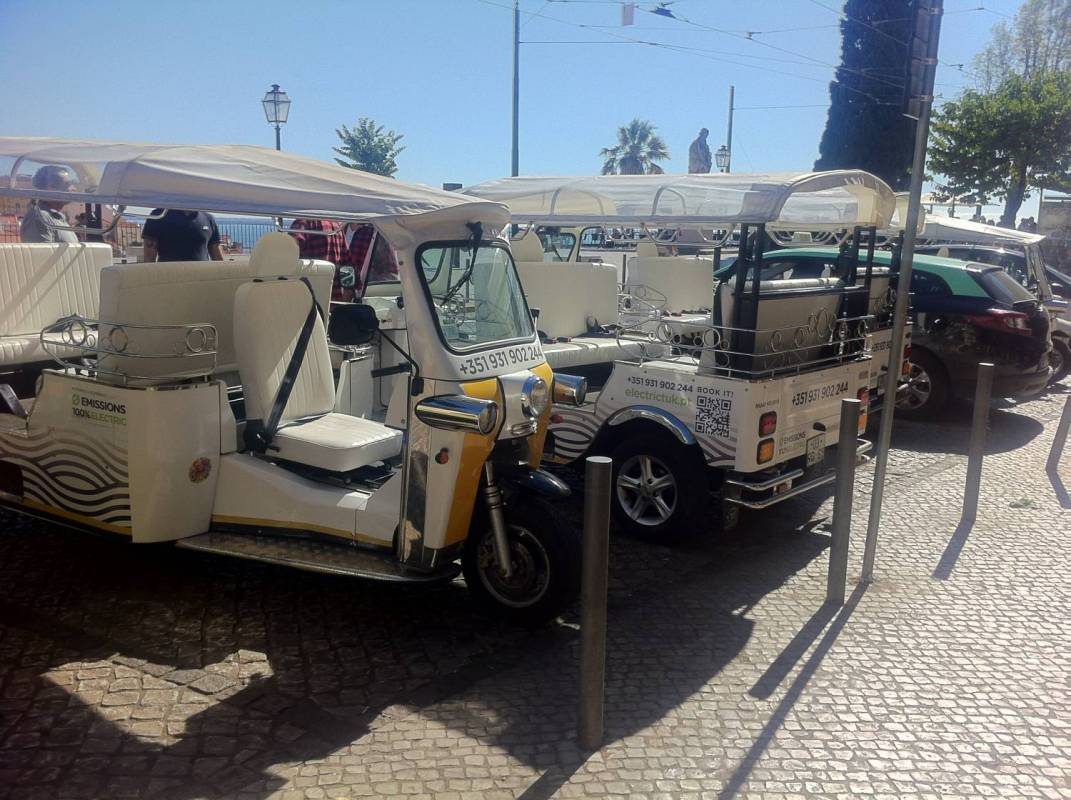 Electric Tuk Lisbon Tour