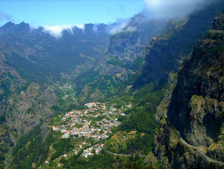 Curral das Freiras, Ilha da Madeira