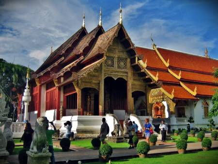 Historical Temple Discovering In Chiang Mai