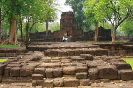 Prasate Mueang Sing Kanchanaburi Thailand