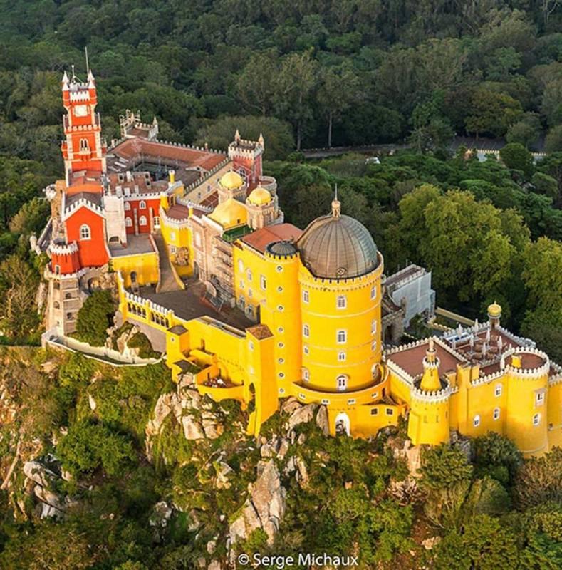 Sintra village et des ch teaux de la visite pied for Oficina de turismo sintra