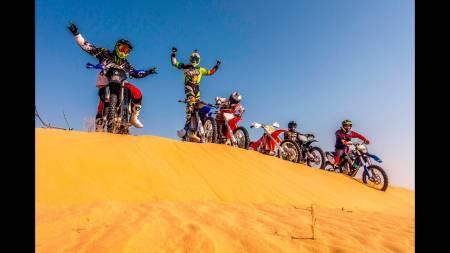 Desert Enduro Motorbike Tour - Dubai