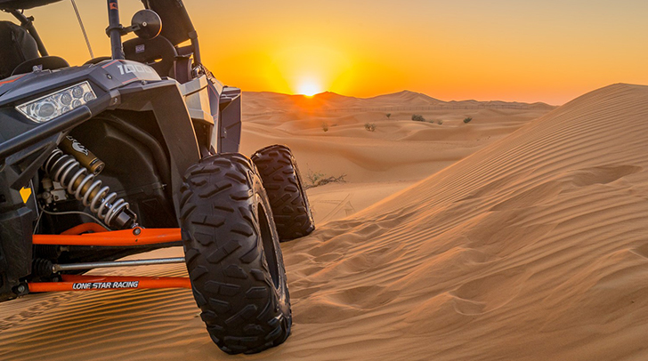 Polaris Rzr 1000 Dune Buggy Tour - 2 Hours - Dubai