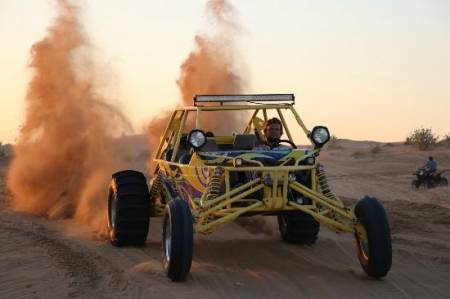 Polaris Rzr 1000 Dune Buggy Tour – 2 Horas – Dubai