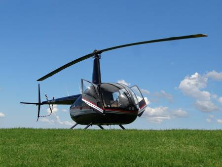 Flying In A Helicopter - Hunter Valley - Australia