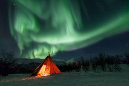 Nightly Aurora Photo Tour - Lapland - Abisko - Sweden