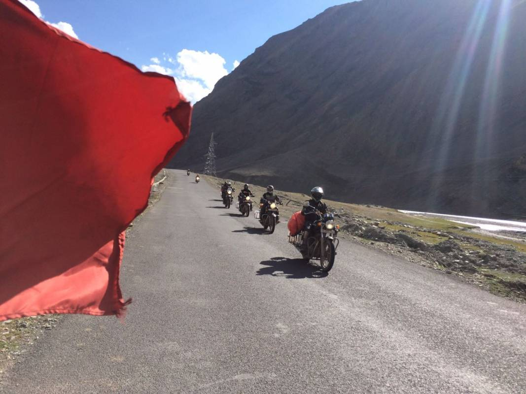 Trans Himalayan Motorcycle Tour India