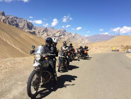 Trans Himalayan Motorcycle Tour India