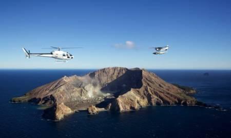 Excursion De Tauranga: Vol En Hélicoptère Vers Le Volcan Actif Et Visite Au Verger Kiwi