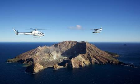 Excursión Desde Tauranga: Vuelo De Helicóptero A Volcán Activo Y Visita A La Huerta De Kiwi