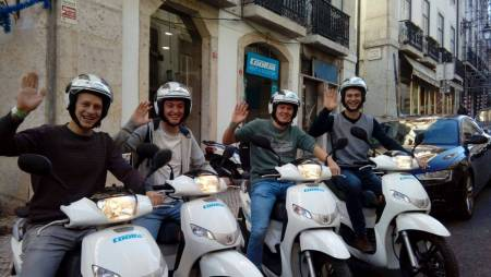 Rent A Scooter In Oporto