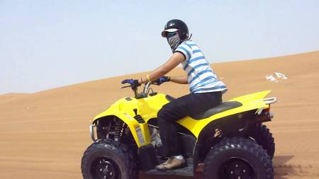 Can Am Renegade 570Cc Quad Tour – Starter (2 Hours) – Dubai