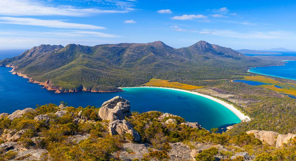 Geh zurück zu Tasmania