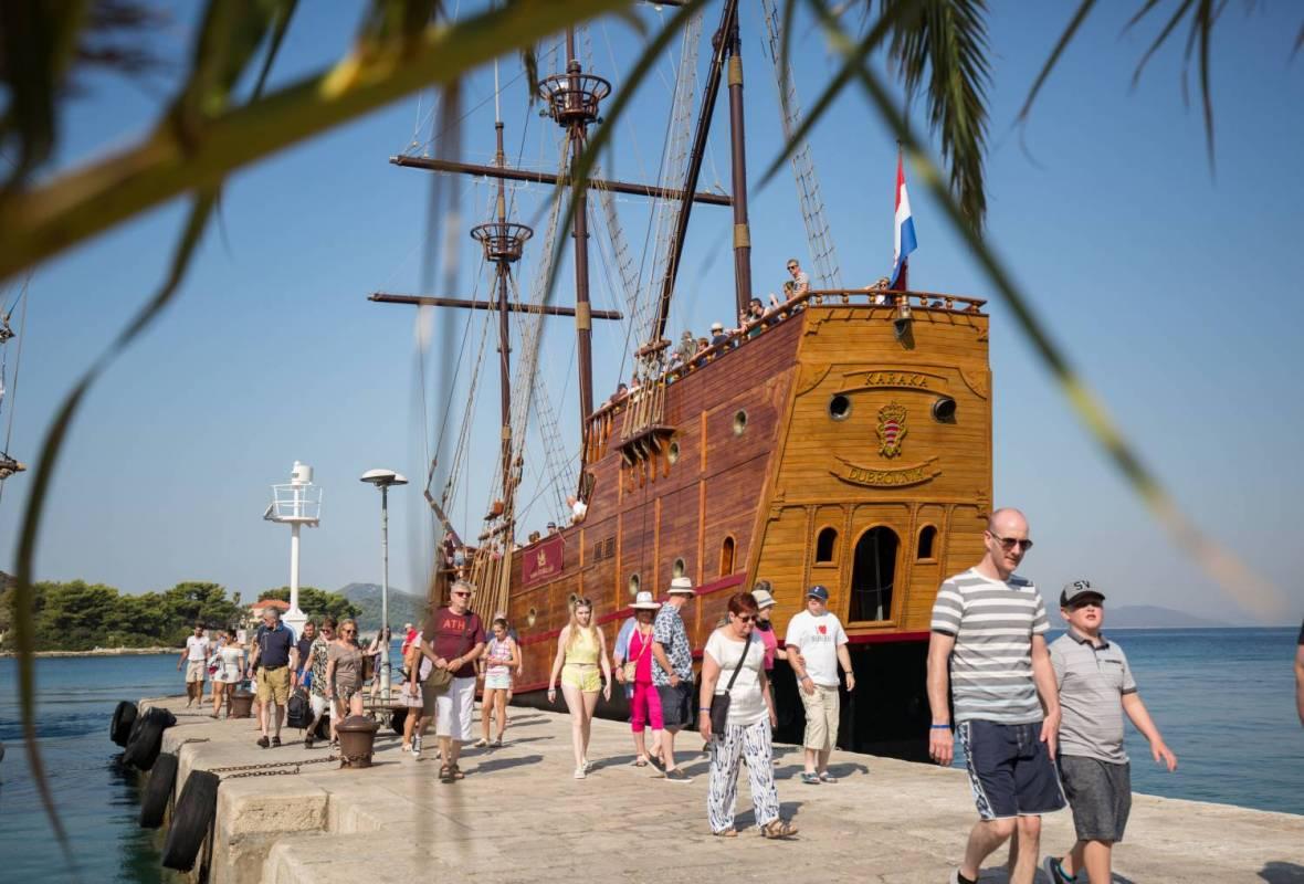 Elafiti Islands Karaka Cruise Croatia