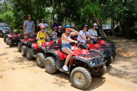 One Day Adventure Atv 200 Cc And Rock Climbing Phuket