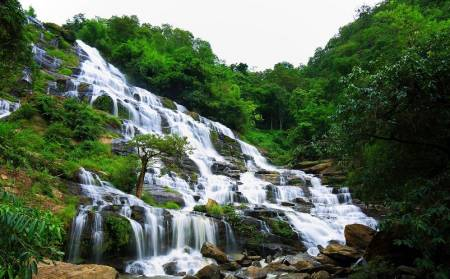 From Chiang Mai: Full Day Excursion To Suan Son Bor Kaew And Mae Ya Waterfall