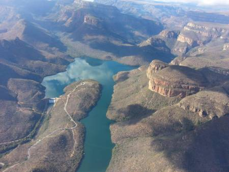 1 Hour Blyde River Canyon Flight Including Game Viewing