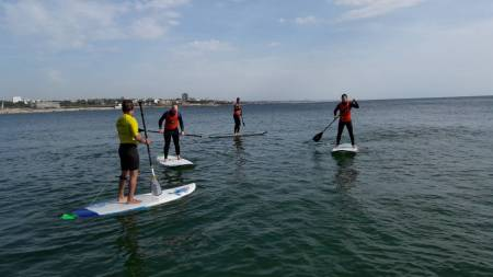 Class Stand-Up-Paddle (Sup) – Porto