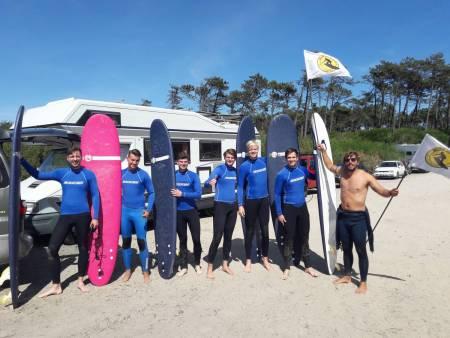 Surf Lessons Oporto