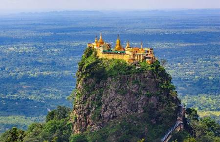Excursion To Sacred Mount Popa