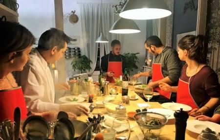 Barcelona: Aula De Culinária E Visita Ao Mercado La Boquería