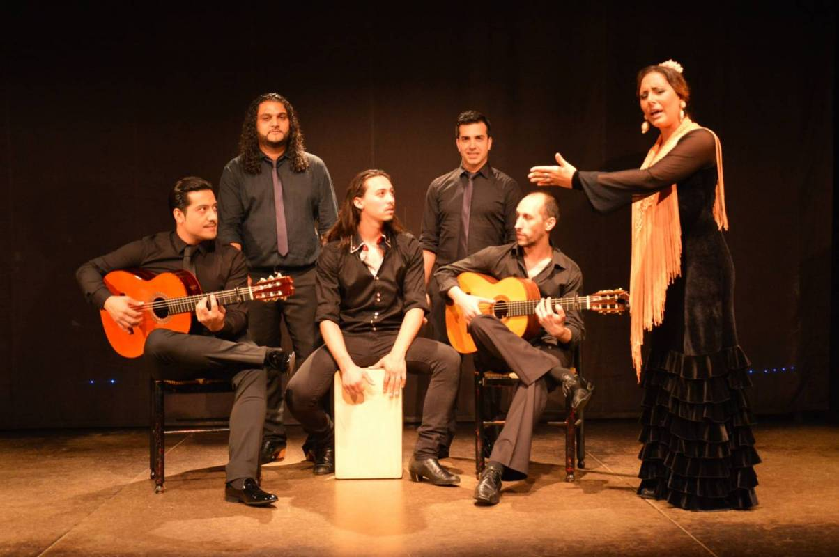 Spanish Flamenco Show At Palacio Del Flamenco In Barcelona