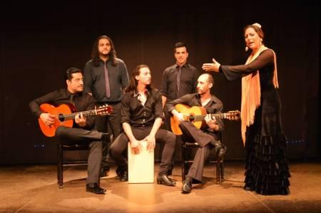 Spanish Flamenco Show At Palacio Del Flamenco In Barcelona