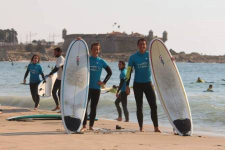 Surf Classes In Matosinhos