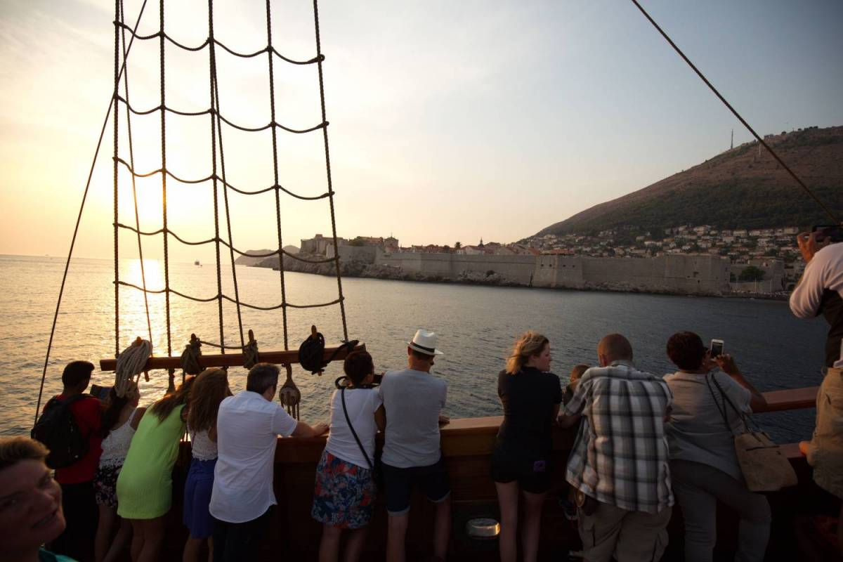 Dubrovnik Croatia Ship Tour