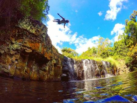 The Cliff Jumping Whirlwind Tour