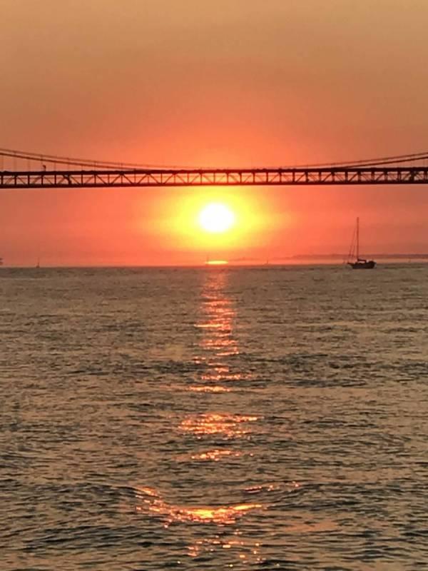 Tagus River Boat Tour Sunset Romantic