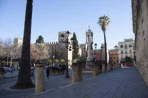 Real Alcazar Entrance Square
